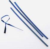 Blauw Metallic Plastic Bindstrip 15.2x.4cm (1000 Stuks) [TT6MB]