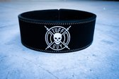 Black Lifting Belt, Medium met Fast CLip systeem en 12mm dikte
