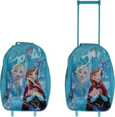 3dc6aabef2b Frozen Rugzaktrolley voor Kinderen – 40x30x10cm | Koffer voor Meisjes |  Reisbagage
