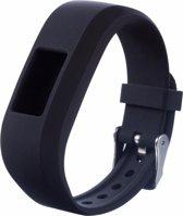 Siliconen Polsband Voor Garmin Vivofit 3 -  Armband / Polsband / Strap Bandje / Sportband - Donker Blauw