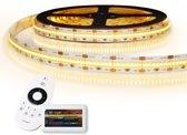 6 meter led strip Warm Wit Pro 420 leds - complete set IP20
