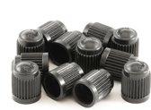 12 universele ventieldoppen voor de auto - Autoventieldoppen - Zwart