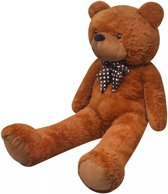 vidaXL Teddybeer zacht pluche XXL 150 cm bruin