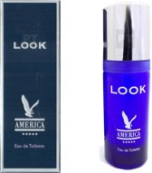 4 x America Look - Eau de Toilette - 50ml - Milton Lloyd - Heren