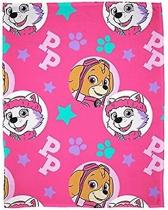 Paw Patrol SKYE & EVEREST Fleece Deken Plaid 150 x 100 cm Zacht & Warm