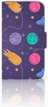 Samsung Galaxy Core Prime Uniek Boekhoesje Space