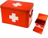 Pt, Medicijnkist Medicine Box - Large - Rood