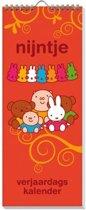 Nijntje Verjaardagskalender - Dick Bruna -  13 x 33 x 1 cm