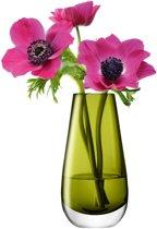 L.S.A. Flower Colour Vaas Bud - Rond - 14 cm - Olijf Groen