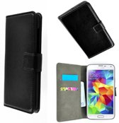 Samsung Galaxy Grand Neo Plus Wallet Bookcase hoesje Zwart