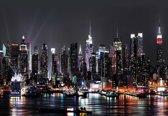 Fotobehang New York City | XL - 208cm x 146cm | 130g/m2 Vlies