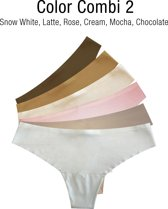 MAGIC Bodyfashion Dream Invisible String - 6-pack - Combi 2 - Maat L