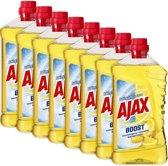 Ajax Boost Soda & Citroen allesreiniger 8 x 1L