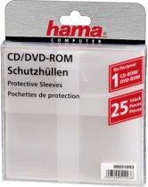 Hama Cd/Dvd Rom Hoezen - 25 stuks