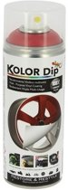 Kolor Dip Spuitfolie Metallic Rood 400 Ml