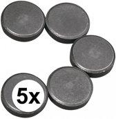 5 ronde magneten 20 x 5 mm