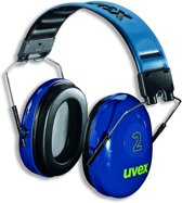 Uvex gehoorkap 2 met hoofdbeugel (2500-001)