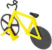 Pizzasnijder Fiets - Pizza Cutter Bike Racefiets – Geel