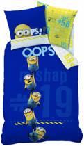 Minions Oops - Dekbedovertrek - Eenpersoons - 140 x 200 cm - Blauw