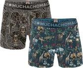 Muchachomalo Boxers Africa 2-pack Heren - Multi - S