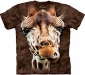 T-shirt giraf bruin S