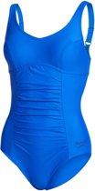 Speedo Vivienne Clipback Dames Badpak - Blauw - Maat 46