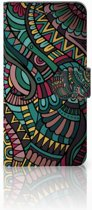 Motorola Moto E5 Play Boekhoesje Design Aztec