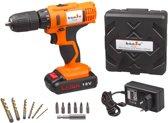 Hanse® Werkzeuge Accuboor 18V - 1,5Ah -  Lithium - Laadtijd 1 uur
