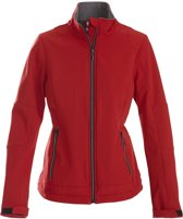 Printer Trial Lady Softshell Jacket red XL