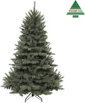 Triumph Tree kunstkerstboom forest frosted maat in cm: 215 x 140 newgrowth blue