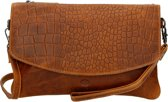 MicMacbags Clutch Everglades Cognac