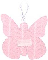Baby Anne-Cy Porto Speendoekje Butterfly Cable Pink
