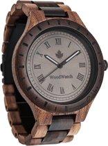 De officiële WoodWatch | Oaklee Stroopie Edition | Houten horloge heren