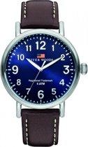 River Woods RW420012 Sacramento horloge Heren - Bruin - Leer 42 mm