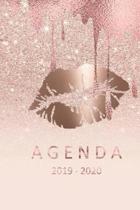 agenda 2019- 2020: agenda 2019-2020 del 1 de julio del 2019 al 31 de diciembre del 2020 ideal para el regreso a clase con 80 hojas planif