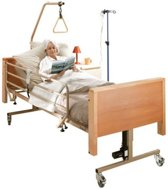 EasyLiving Hooglaag Verpleegbed Deluxe - incl. Clinical matras - Verstelbaar