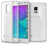Samsung Galaxy Note Edge Ultra thin 0,3mm Gel TPU  Transparant case hoesje