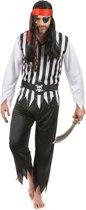 Piraten pak voor heren  - Verkleedkleding - Large
