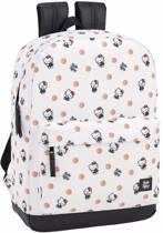 "Hello Kitty Polka Dots - Rugzak - 43 cm - Laptop 15,6"" - Wit"