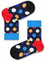 Happy Socks Kids Big Dot sokken, 0-12 mnd, Maat 15/18
