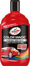 Turtle Wax Color Magic Kleurwas - Rood - Speciale Kleurpoets Voor Rode Auto's