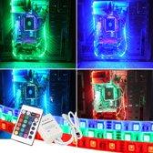 PC led strip set 4 meter RGB Premium