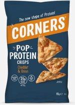 Corners Pop Protein Crisps - Sport snack - 8 stuks (85 gram)
