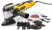 Powerplus POWX1347MC Multitool - Oscillerend - 300 W – Incl. 36 accessoires in metalen opbergdoos