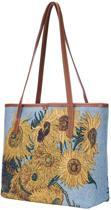 Signare Schoudertas College Sunflower Van Gogh - Gobelin - Kunst