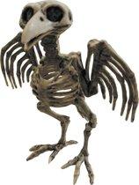 Vogel skelet decoratie Halloween - Feestdecoratievoorwerp