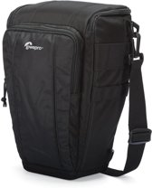 Lowepro Toploader Zoom 55 AW II Black |  cameratas incl. All weather regenhoes