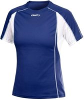 Craft Track and Field Tee cobalt white - Maat XL