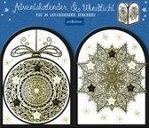Adventskalender & Windlicht ''Mandalas''