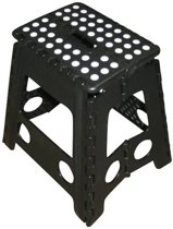 Kruk - Krukje - Opvouwbaar - Zwart Wit - tot 120 kg